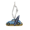 VW Beetle Surfer Ornament Thumbnail