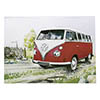 VW Camper Country Red Thumbnail