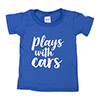 Plays With Cars Toddler T-Shirt