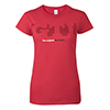 GTI Hot Hatch T-Shirt - Ladies' Thumbnail
