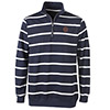 Striped Quarter-Zip Pullover Thumbnail