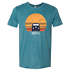 Sunset Bus T-Shirt Thumbnail