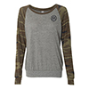 Camo Eco-Jersey Pullover - Ladies'