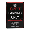 GTI Parking Sign Thumbnail