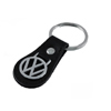 Black Leather Keychain Thumbnail