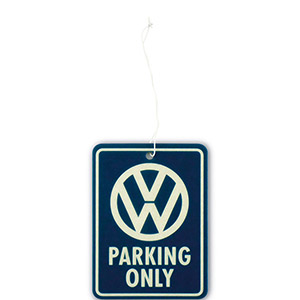 VW Parking Only Air Freshener