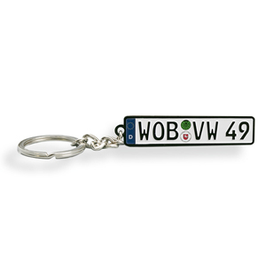 European License Keychain