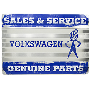 Sales & Service 12 x 18 Sign