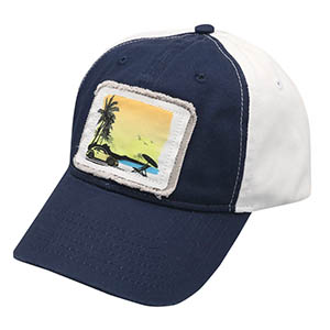 Beetle Sunset Patch Cap