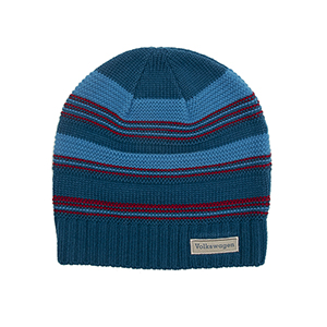 Striped Textured Beanie