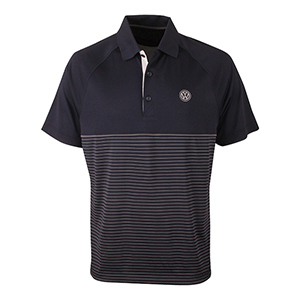 Striped Hybrid Polo