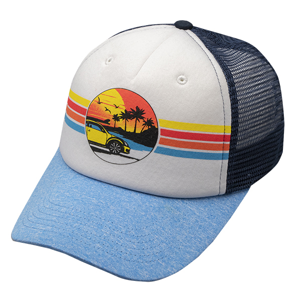 Beetle Sunset Foam Cap