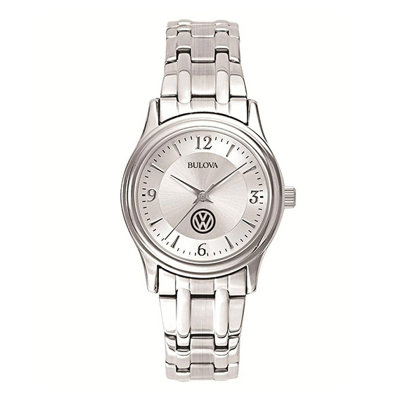 Ladies' Bulova® Stainless Steel Quartz Watch