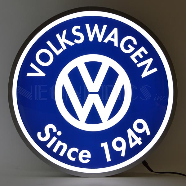 Volkswagen LED Sign