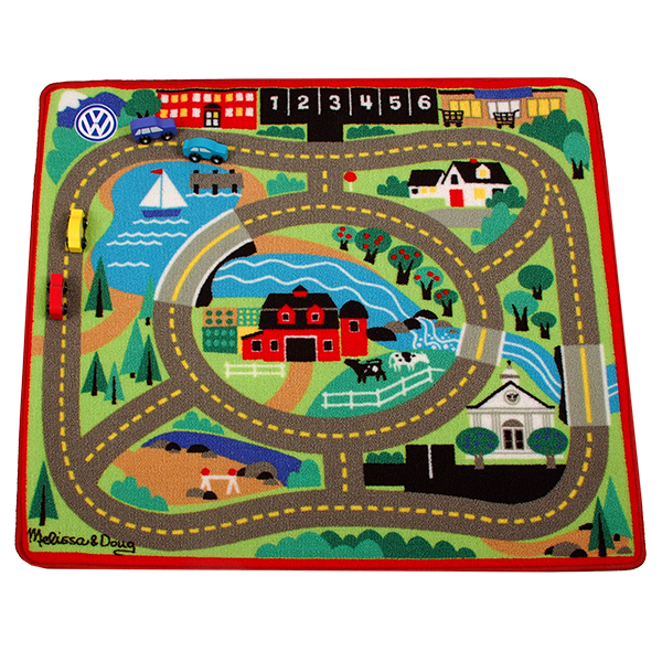 Melissa and Doug Road Rug & Car Set