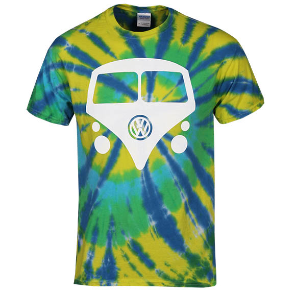 Tie Dye Mini Bus T-Shirt