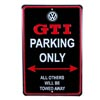 GTI Parking Only Sign Thumbnail